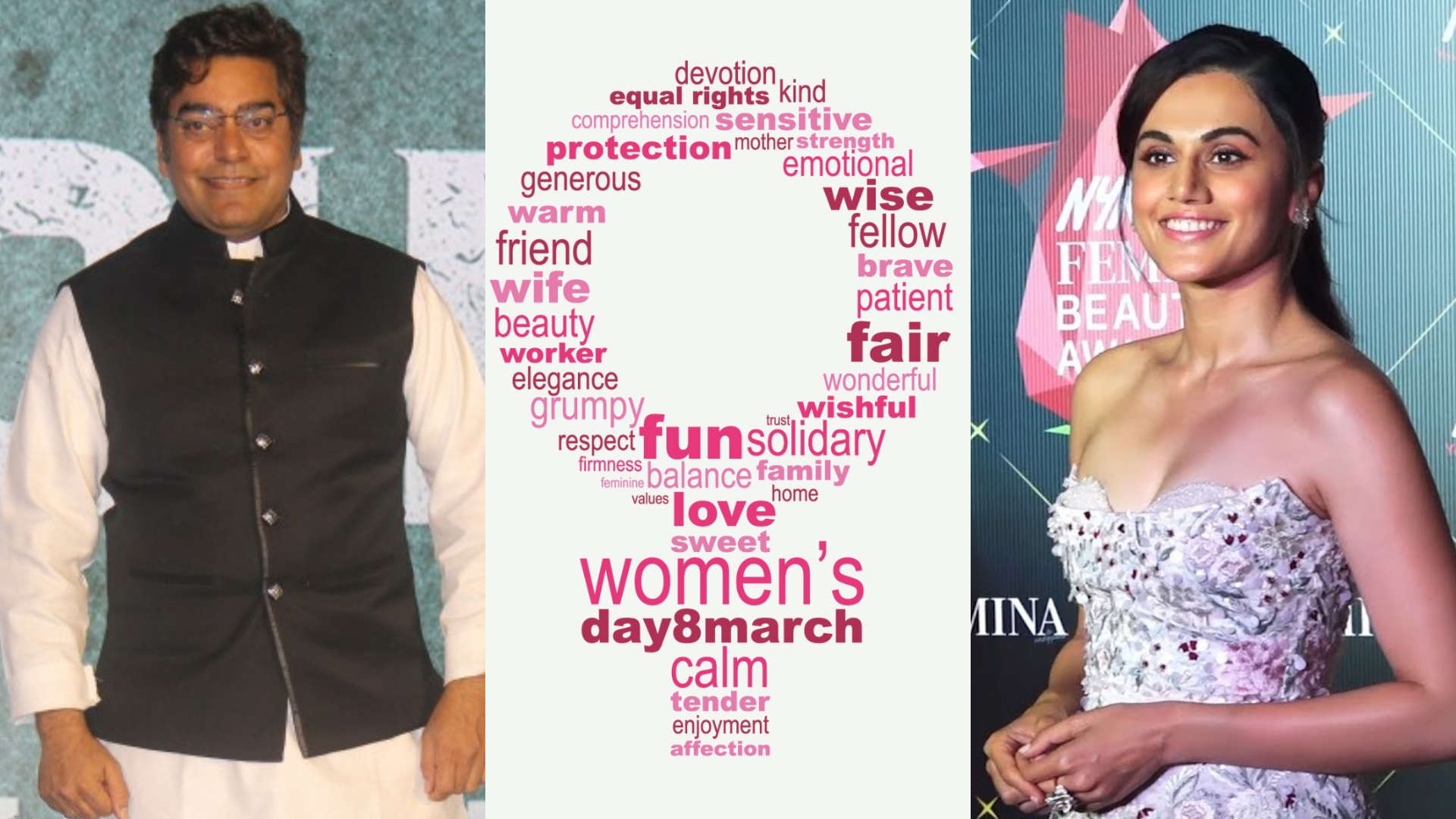 Women's Day 2019 | Taapsee Pannu, Ashutosh Rana and others on the importance of celebrating women