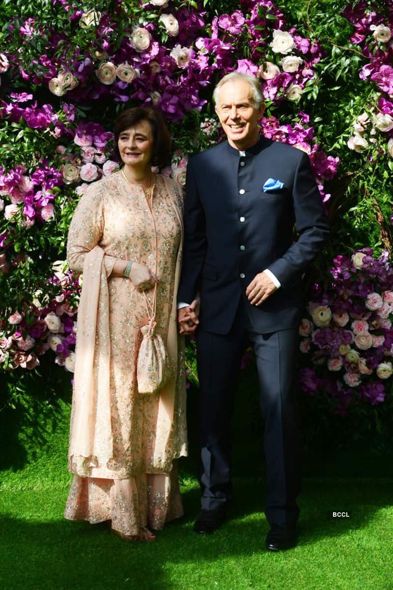 Here are the first photos of Akash Ambani and Shloka Mehta as groom and bride