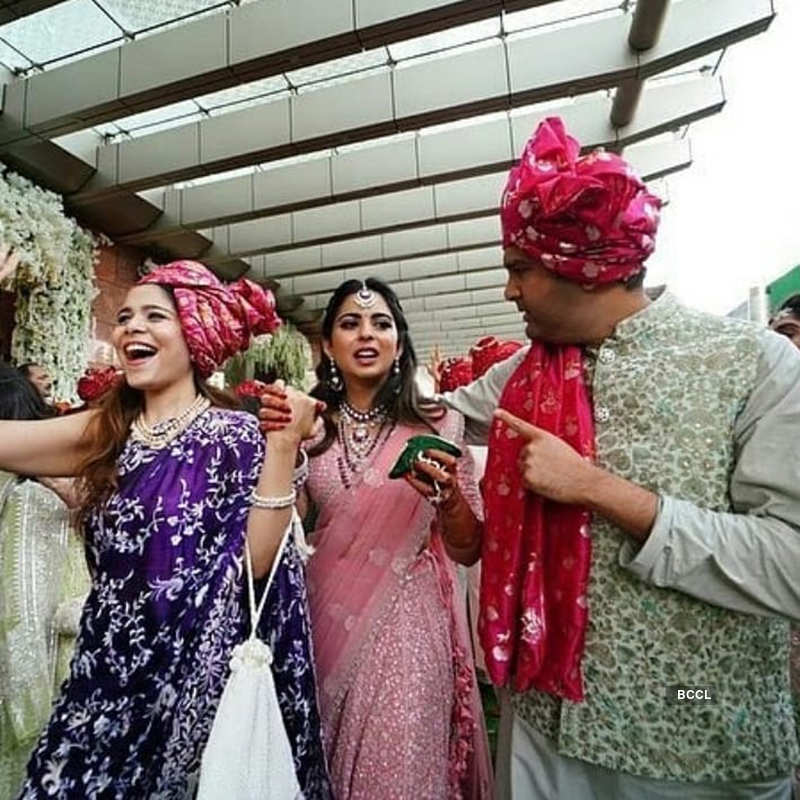 Shloka Mehta steps out in style with BFFs for the first time post her wedding