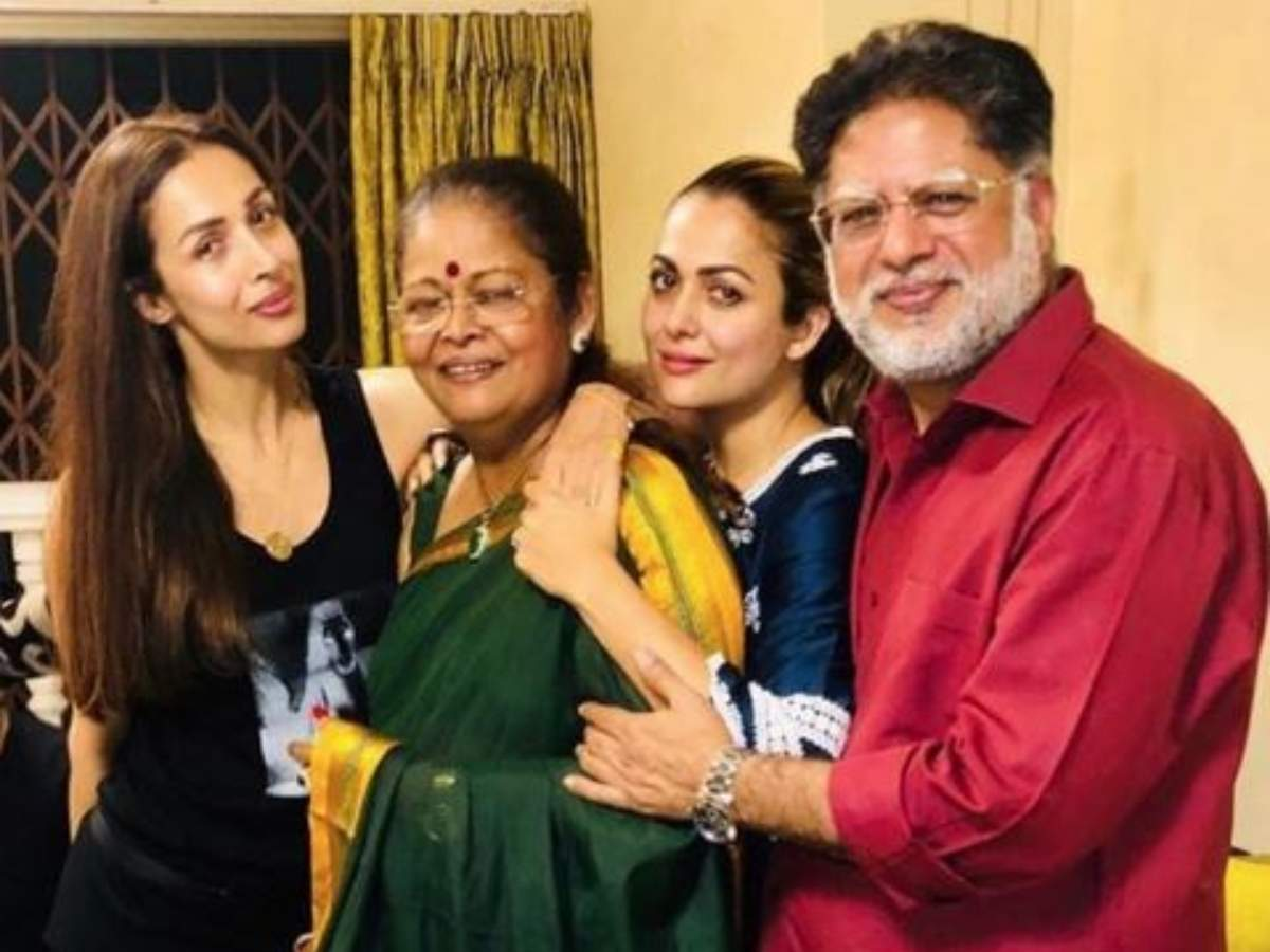 Malaika Arora shares an adorable picture with her parents