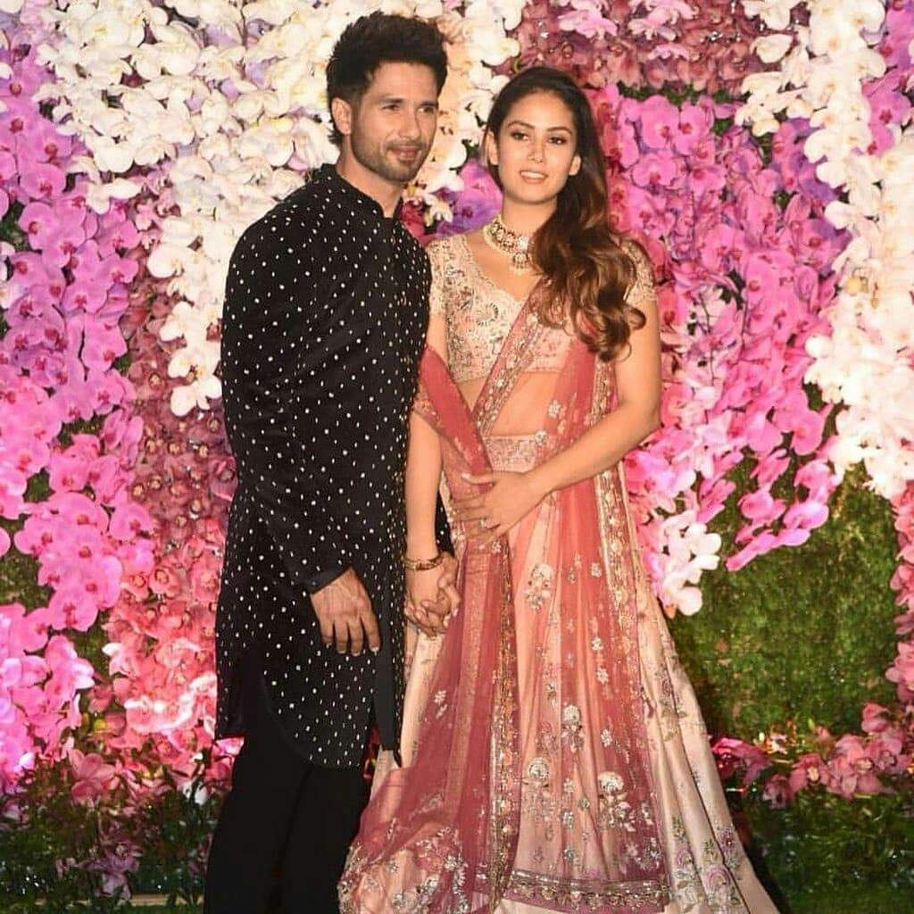 Shahid Kapoor And Wife Mira Rajput Made Head Turns At