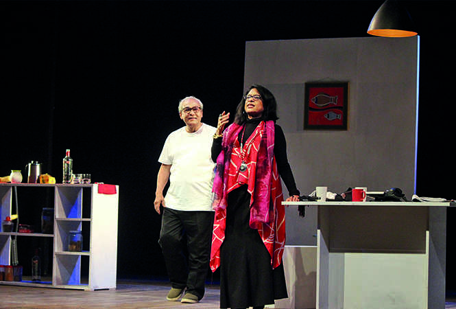 A scene from the play Dwijo Shrestha (BCCL/ Arvind Kumar)