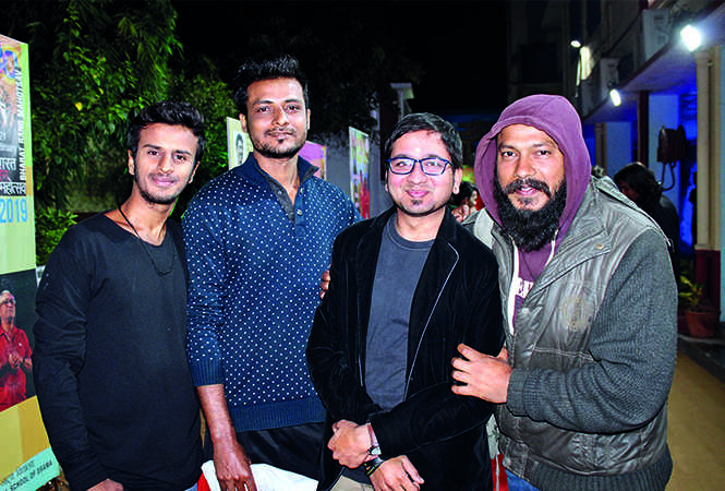 Harsh, Satyam, Utkarsh and Rohitash (BCCL/ Arvind Kumar)