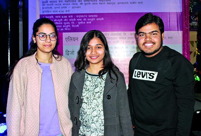 Khushi, Pragya and Satyam (BCCL/ Arvind Kumar)