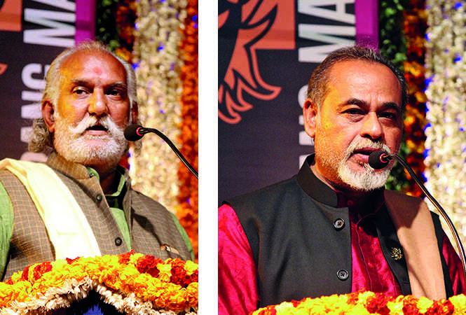 (L) Ratishankar Tripathi (R) Suresh Sharma (BCCL/ Arvind Kumar)
