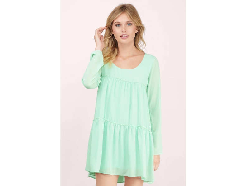 f4d9c2ac39e A collection of mint-green dresses for a chill summer vacation ...