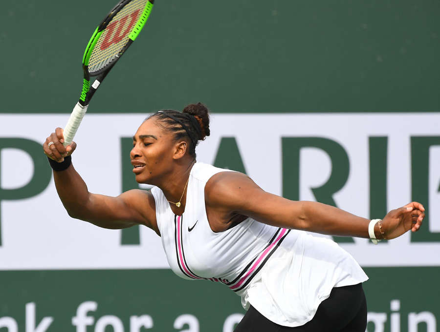 Serena Williams leaves BNP Paribas Open due to illness