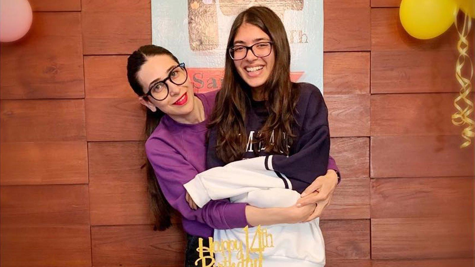 Karisma Kapoor rings in daughter Samaira's 14th birthday with an adorable message