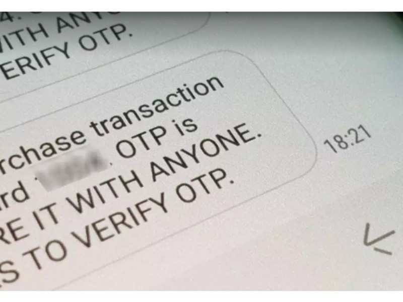 The scam deals in educating users about OTPs first and then winning the victim's trust, so that they share the real OTPs