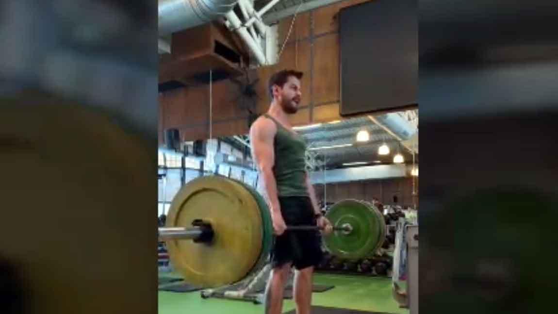 Kunal Kemmu gives a peek into his gym workout