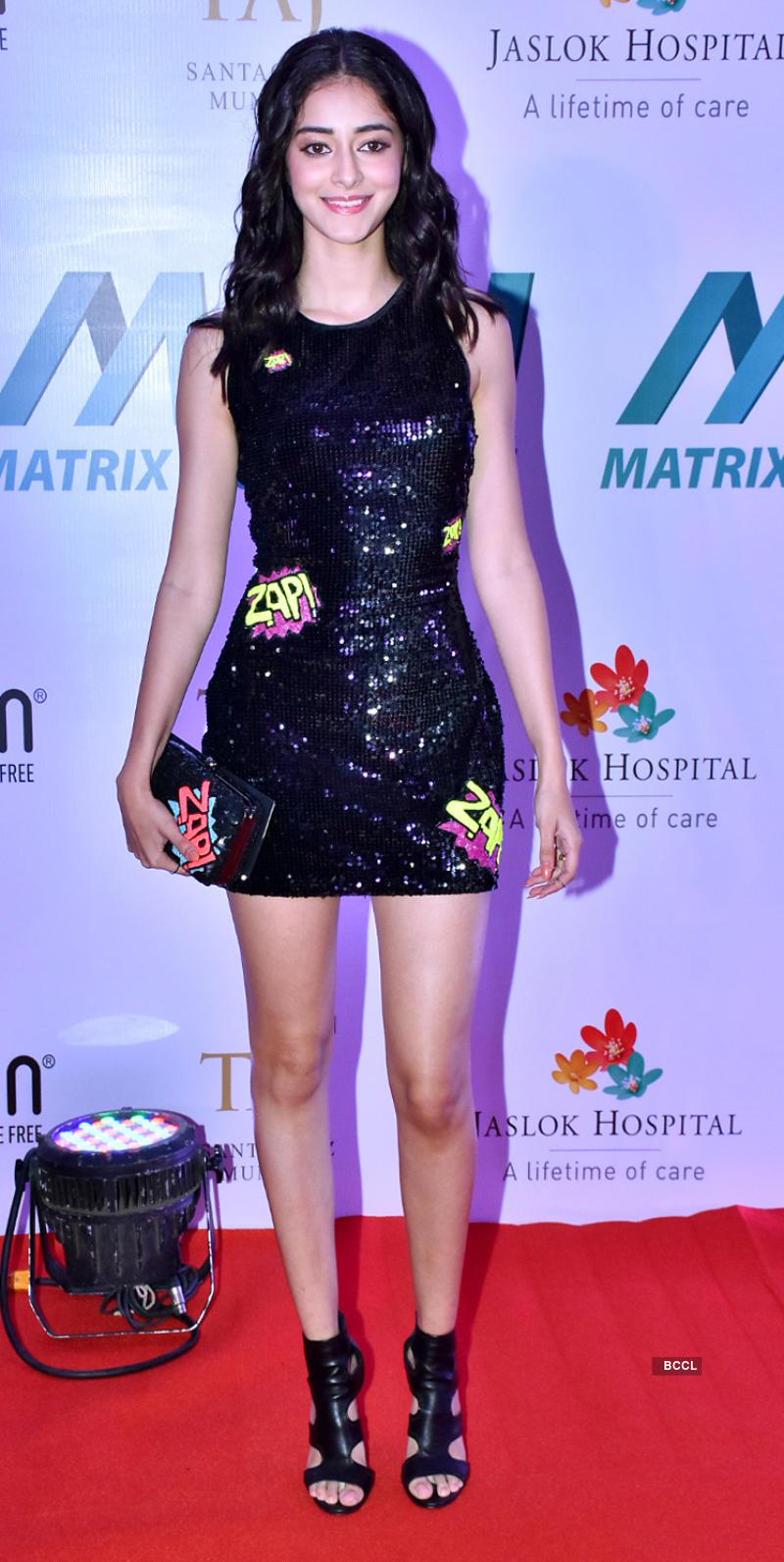 Disha Patani, Ananya Panday, Tiger Shroff and other celebs attend 'Matrix Fight Night'