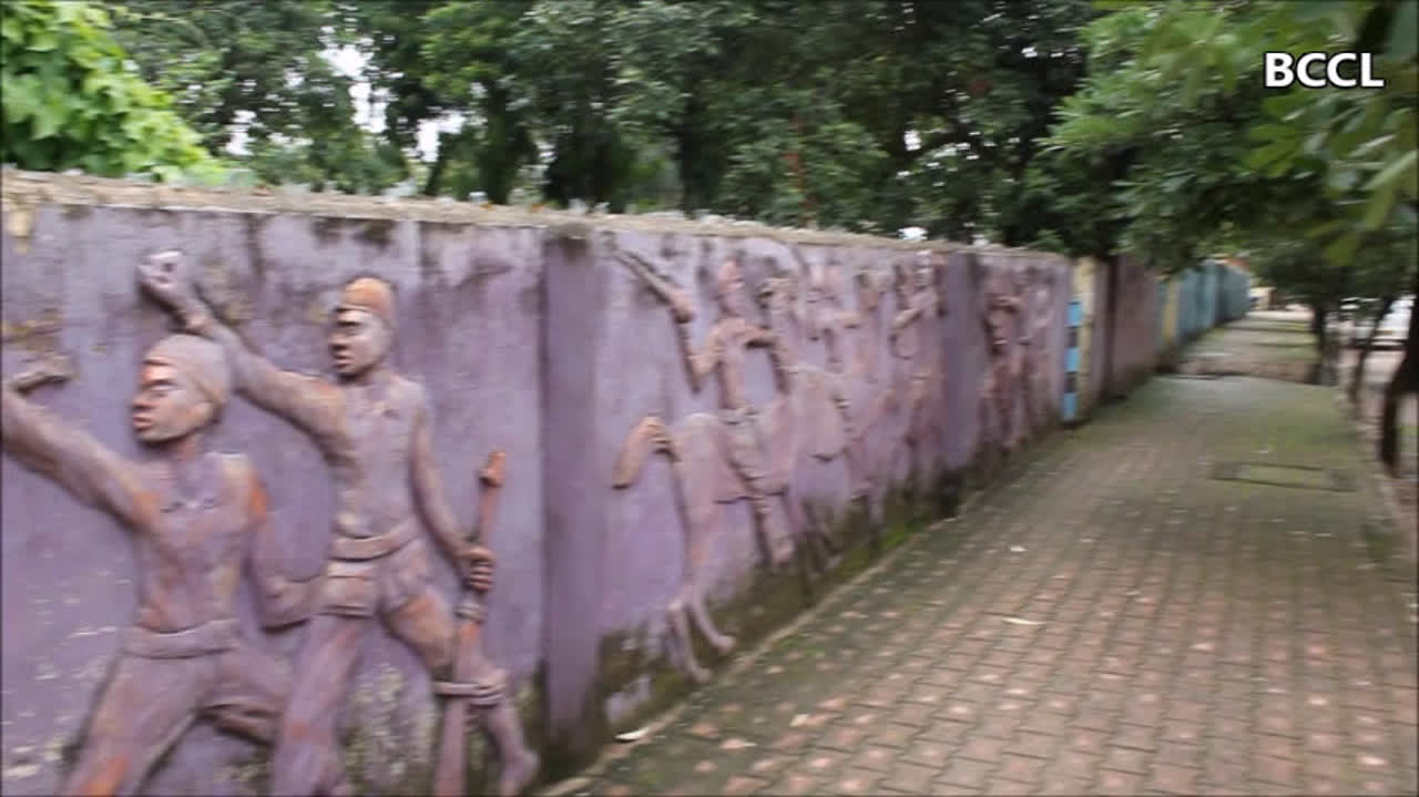 Raipur artists adorn city walls with beautiful 3D art
