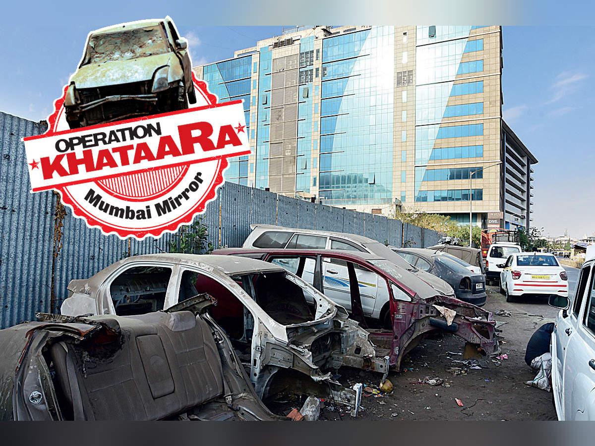 Operation Khataara: Watch your step! Glossy BKC has a khataara entryway