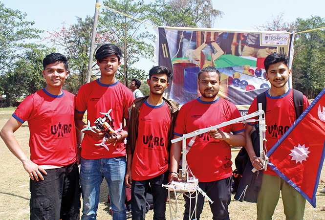 (L-R) Sudip, Shisliv, Ujjwal, Omkar and Shivijzu (BCCL/ Arvind Kumar)