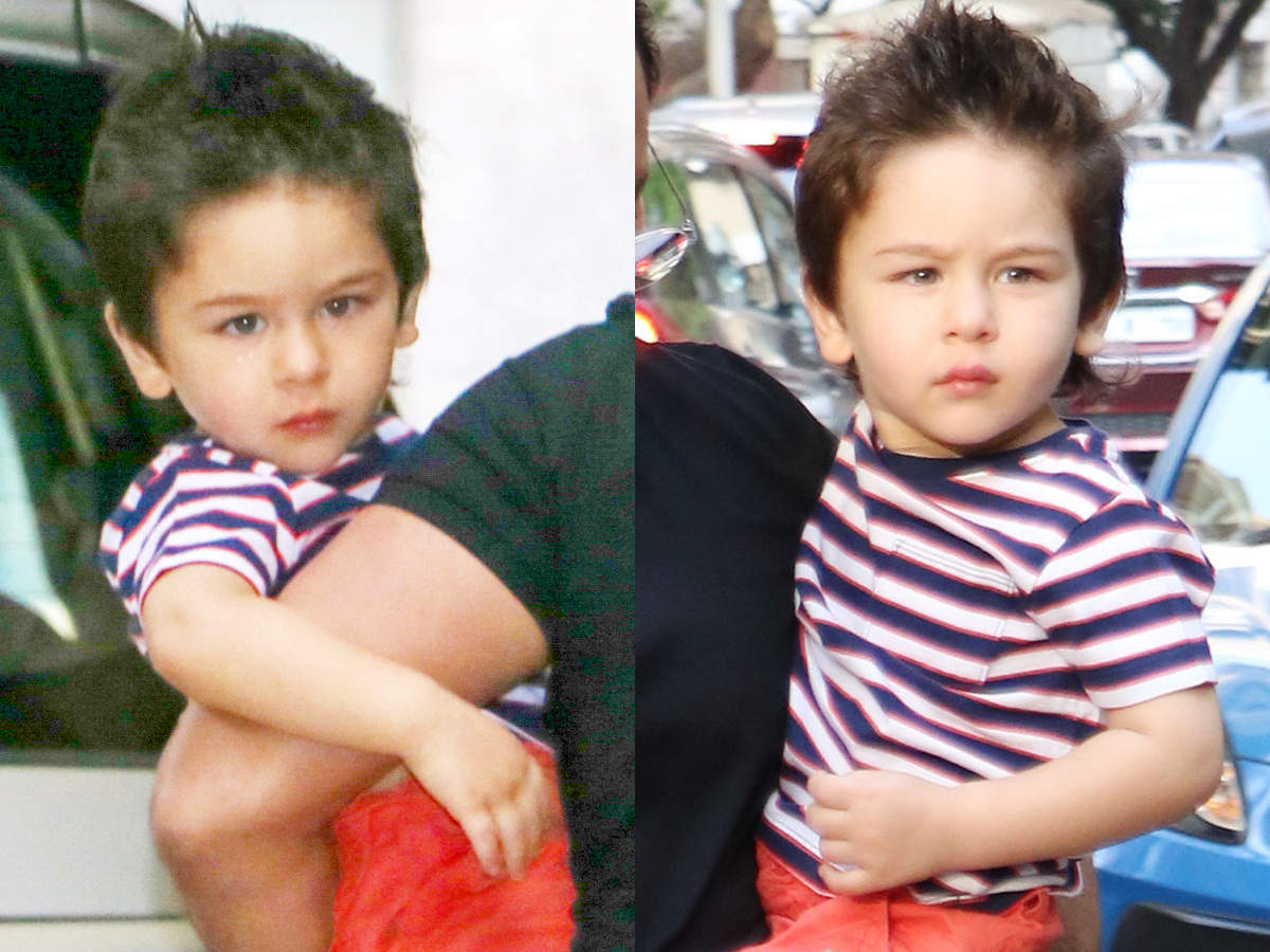 Taimur Ali Khan Just Got A Haircut And He Looks Adorable The Times