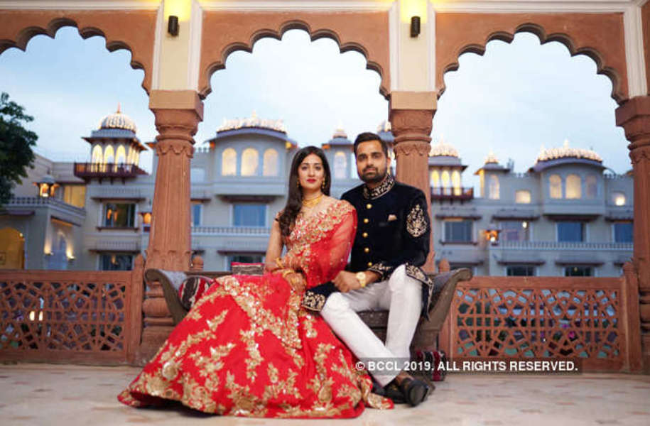 Rajasthan speedster Aniket Choudhary's starry reception