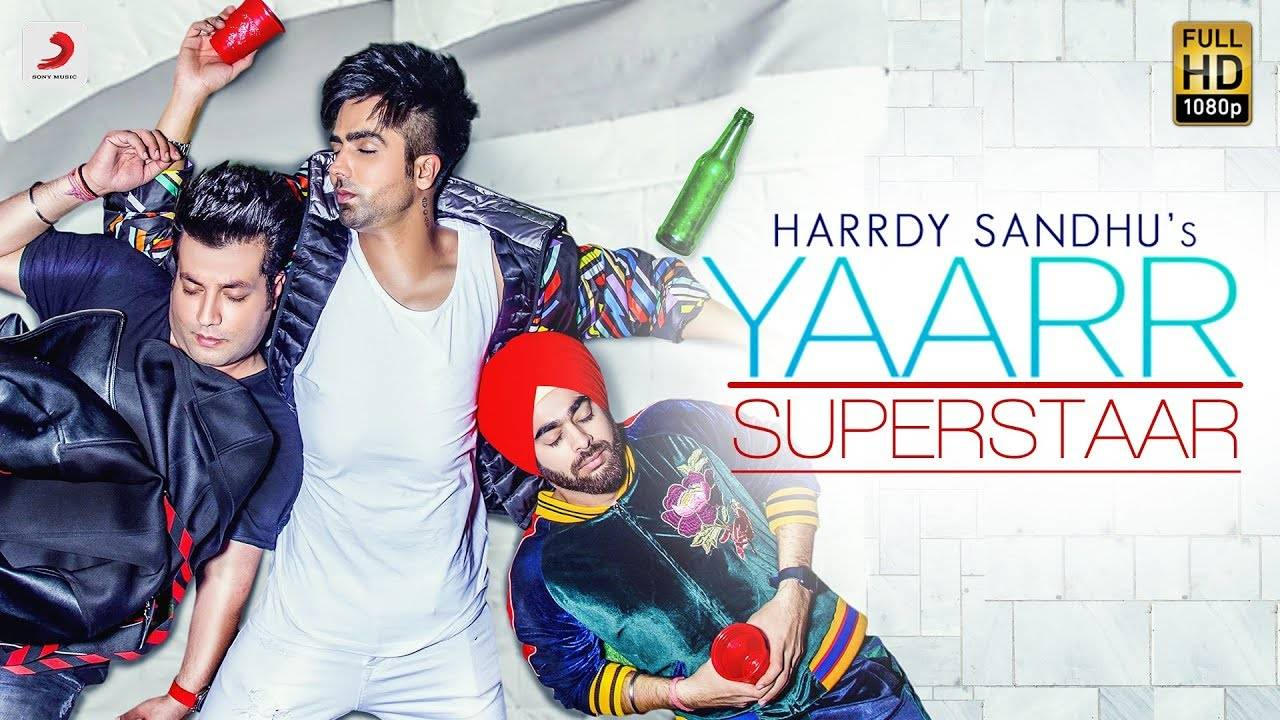 Yaarr Superstar: Harrdy Sandhu's friendship based song is out