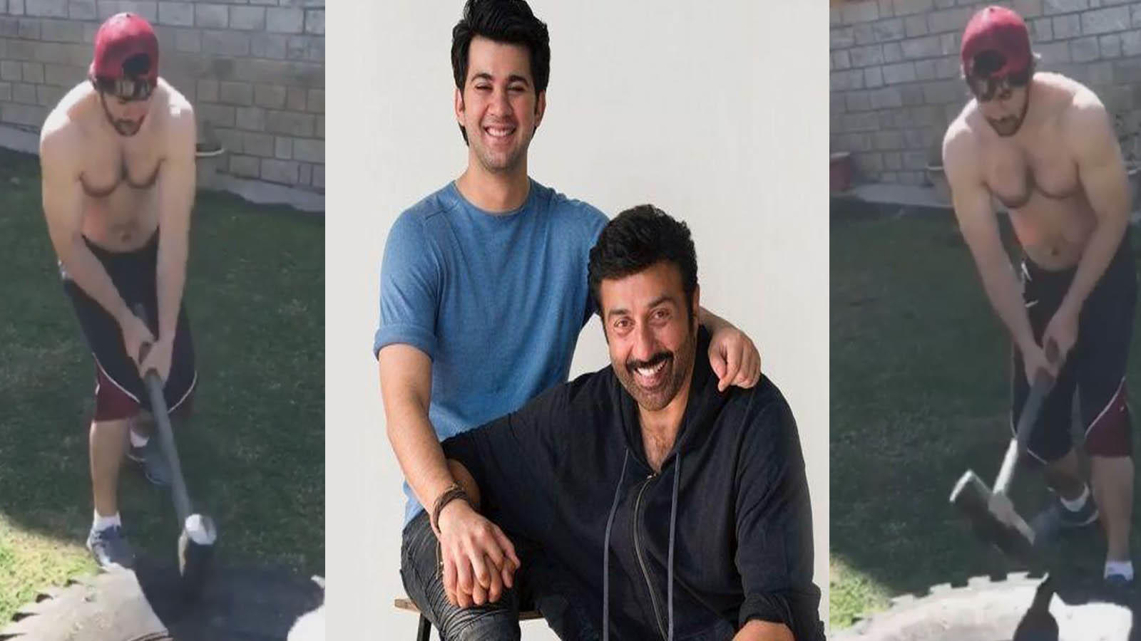 Karan Deol's mindboggling workout will remind you of father Sunny Deol