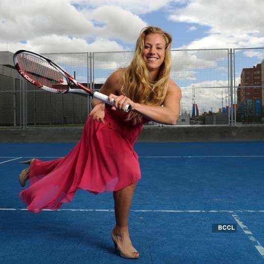 Captivating photos of tennis pro Angelique Kerber
