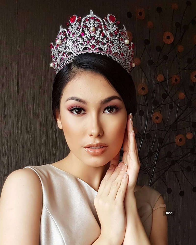 Frederika Alexis Cull crowned Miss Puteri Indonesia 2019