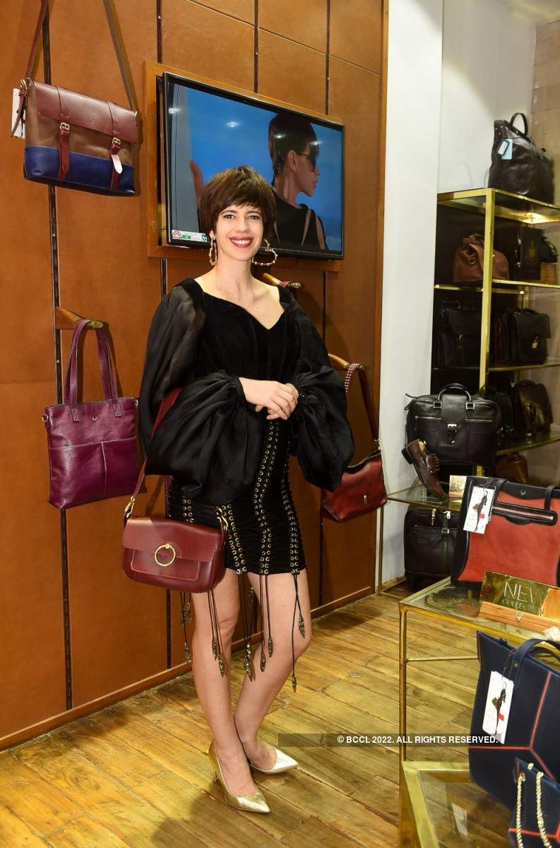 Kalki Koechlin launches new Hidesign line of handbags