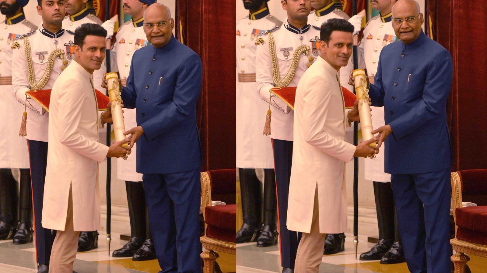 Celebrities congratulate Manoj Bajpayee on receiving Padma Shri