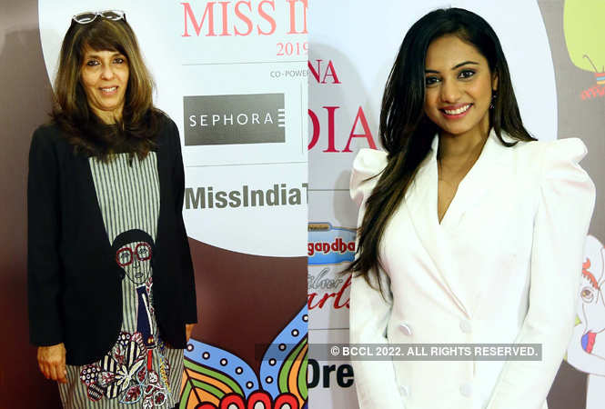 Fashion designer Puja Arya and Nikita Soni, fbb Colors Femina Miss India Rajasthan 2018