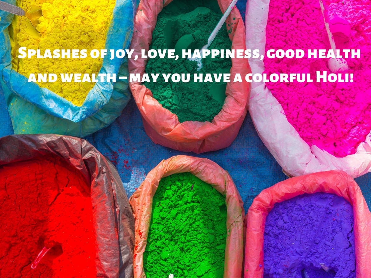 Happy Holi 2020: Best Holi Wishes, Messages, Quotes, Status and Images