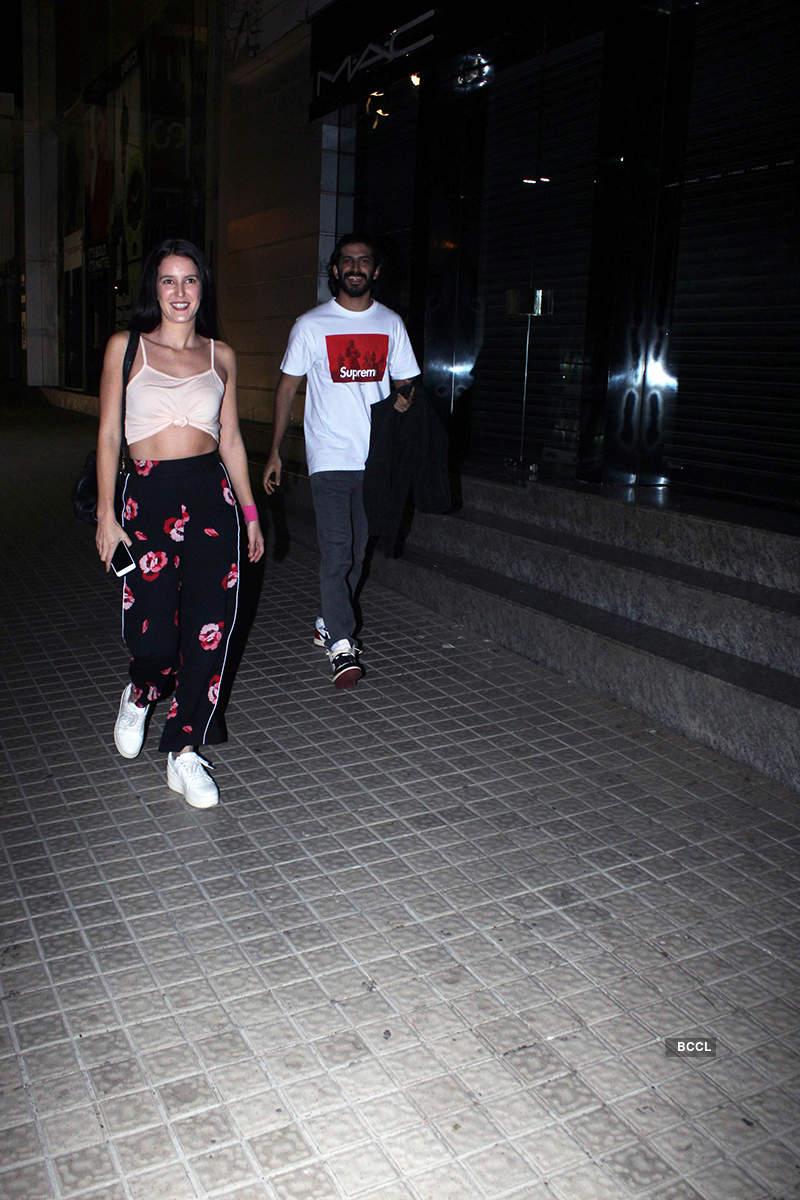 Harshvardhan Kapoor and Isabelle Kaif