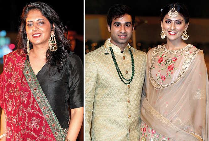 (L) Vandeep Kalra (R) Ashray Ohri and Payal Tripathi (BCCL/ Aditya Yadav)