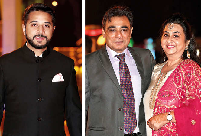 (L) Aditya Vohra (R) Ashwin and Abha Ohri (BCCL/ Aditya Yadav)