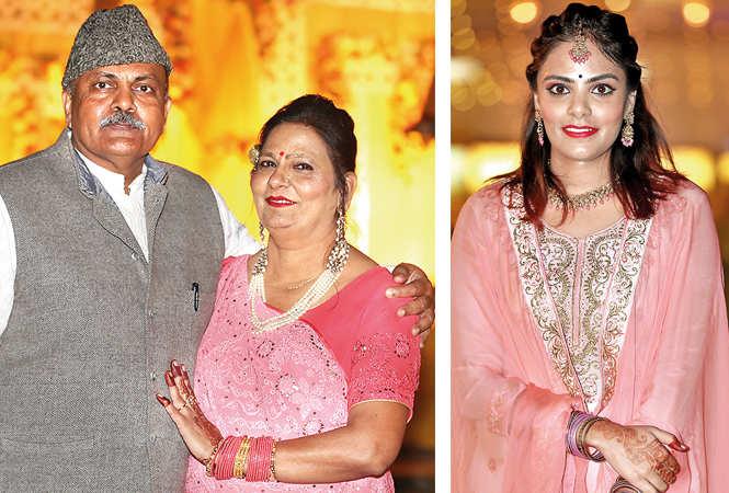 (L) Deepak and Shobha Tripathi (R) Palak (BCCL/ Aditya Yadav)