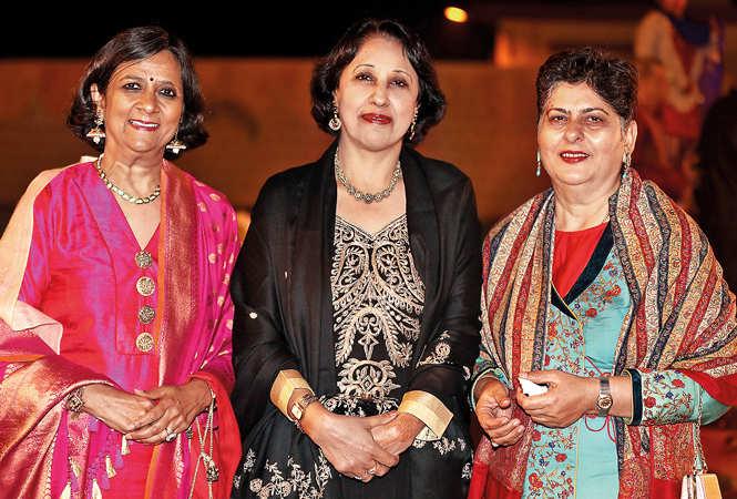 (L-R) Kali Vohra, Meera and Madhu Chopra (BCCL/ Aditya Yadav)
