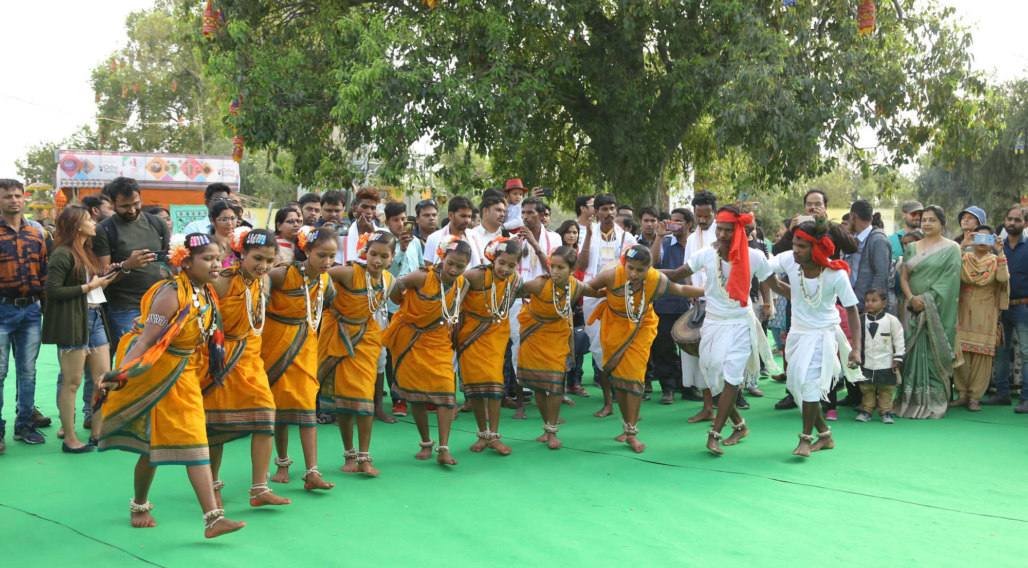 Tribal Dance of Odisha at Odisha Parba