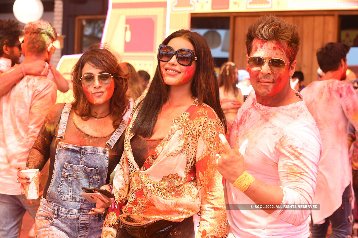 Vineet Jain's Holi Party 2019 - 1