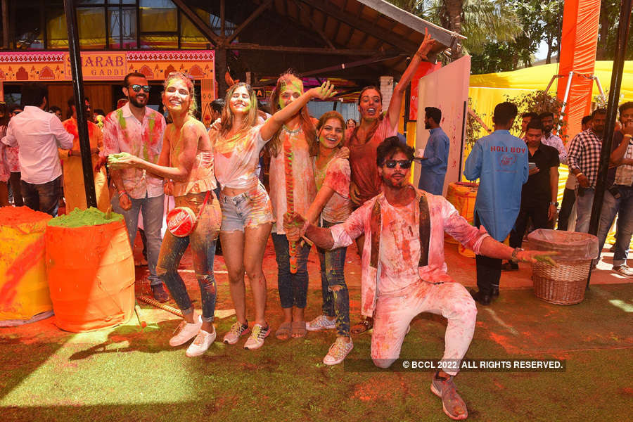 Vineet Jain's Holi Party 2019 - 4