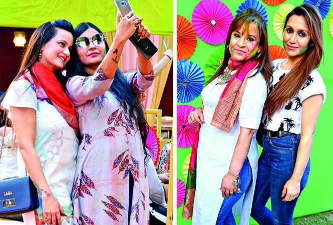 (L) Harsha and Tina (R) Kusha and Taran (BCCL/ IB Singh)