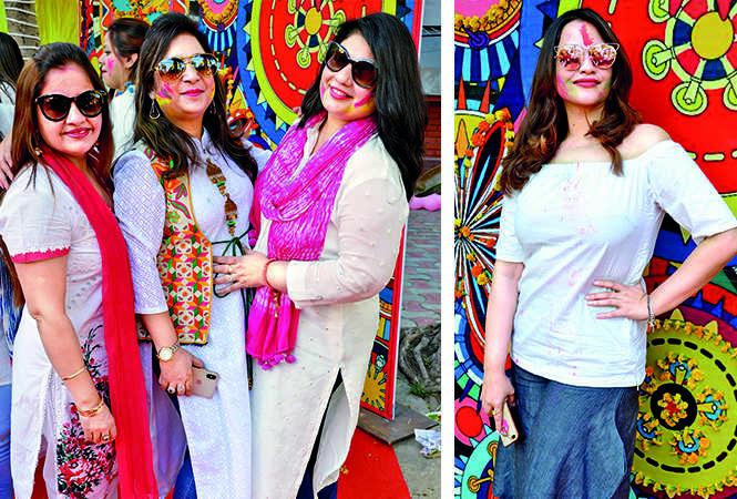 (L) Manisha, Ruchi and Rupali (R) Parul (BCCL/ IB Singh)