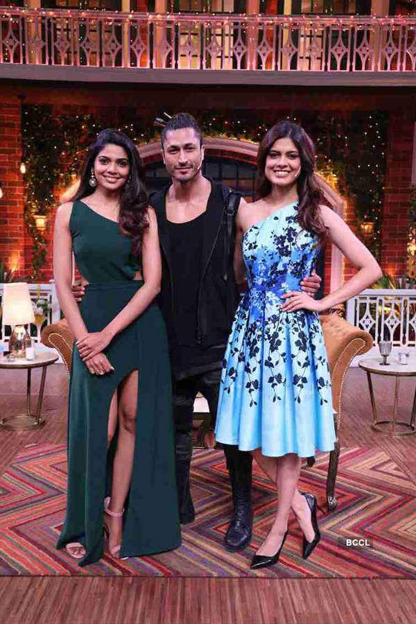 Asha Bhat promotes Junglee at The Kapil Sharma Show