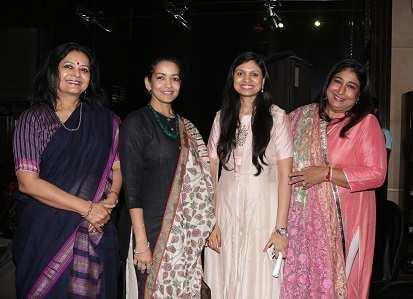 Gouri Basu ,Esha Dutta,Nilisha Agarwal, Malika Varma