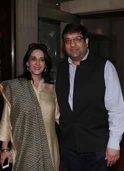 Pooja and Shiv Kapoor