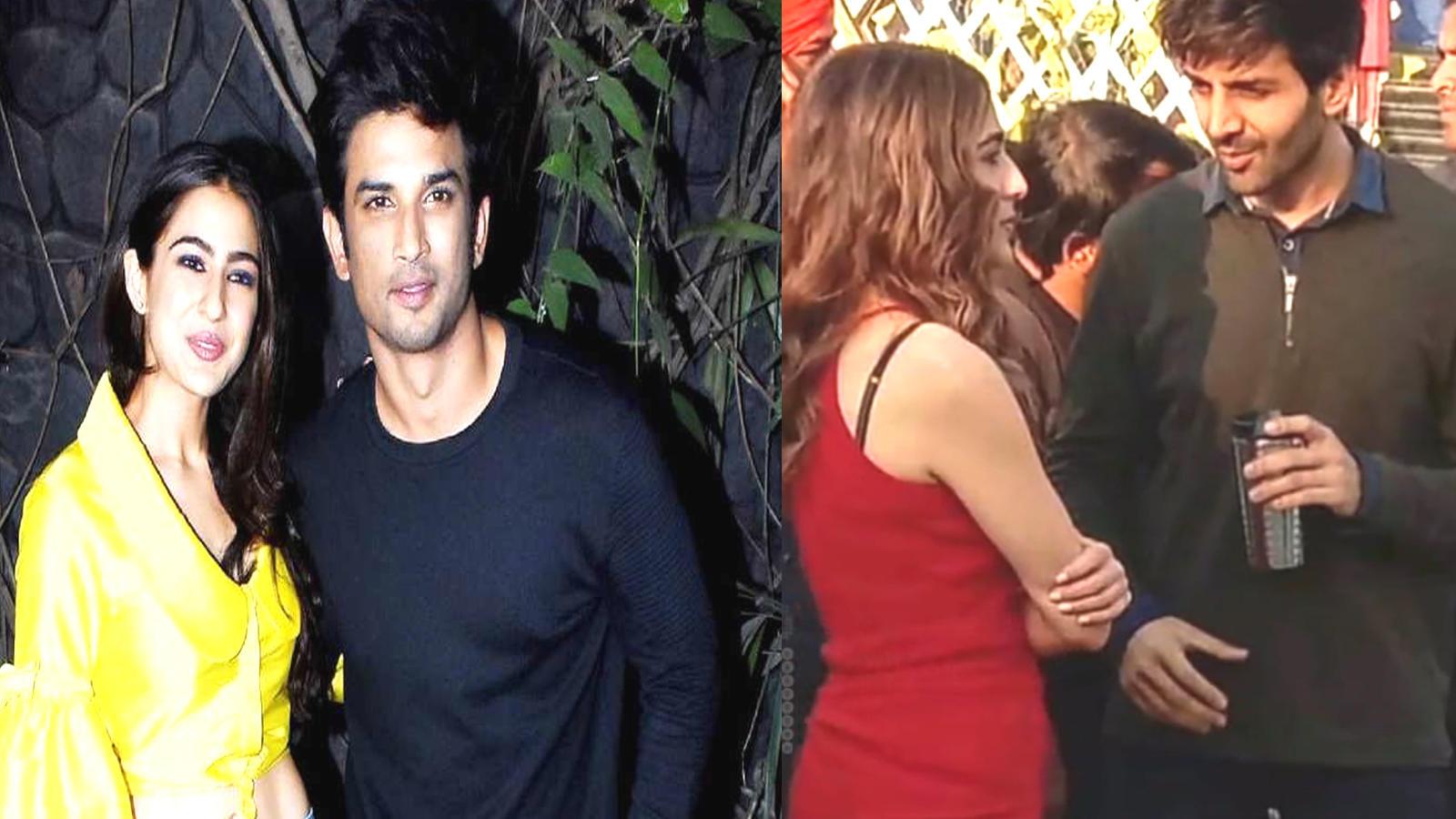 Sushant Singh Rajput breaks up with Sara Ali Khan, reason Kartik Aryan?