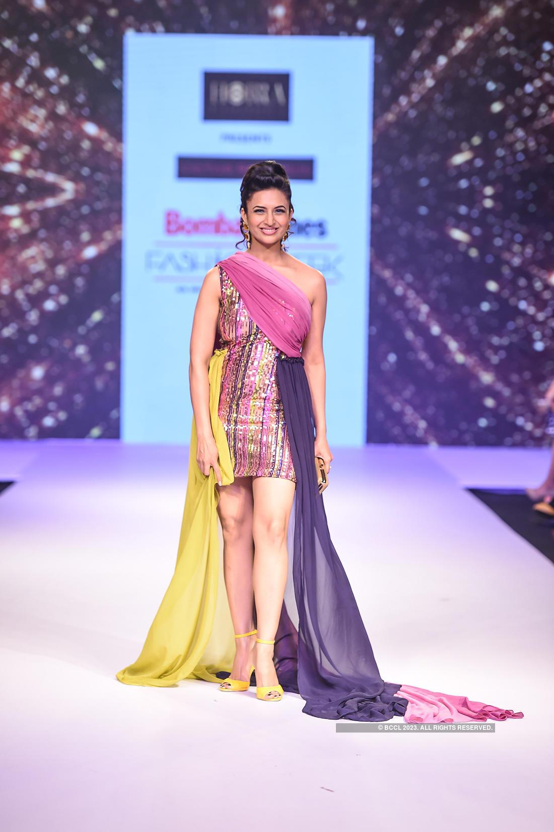 Divyanka Tripathi Dahiya turns showstopper for Victor Robinson at the Bombay Times Fashion Week