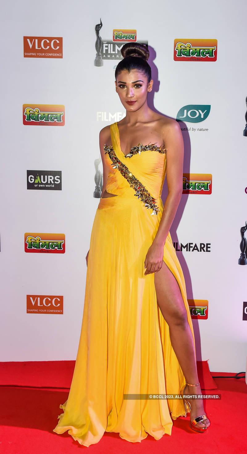 64th Vimal Elaichi Filmfare Awards 2019: Pageant winners walk the red carpet