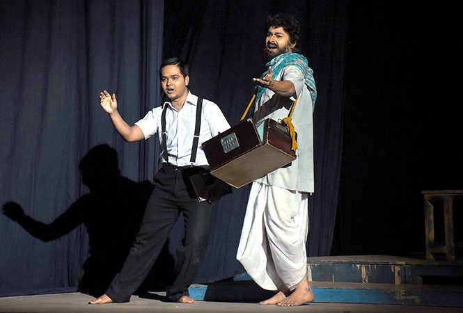 Scene from the play Athoi Jal (BCCL/ Vishnu Jaiswal)