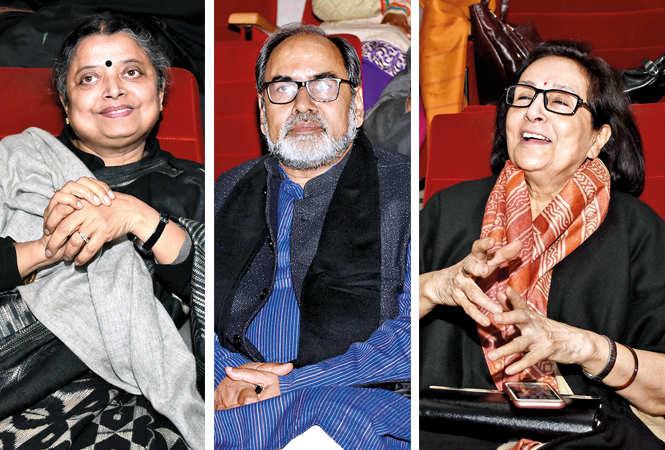 (L) Anjali Tiwari (C) Gopal Sinha (R) Kiran Raj Bisaria (BCCL/ Farhan Ahmad Siddiqui)
