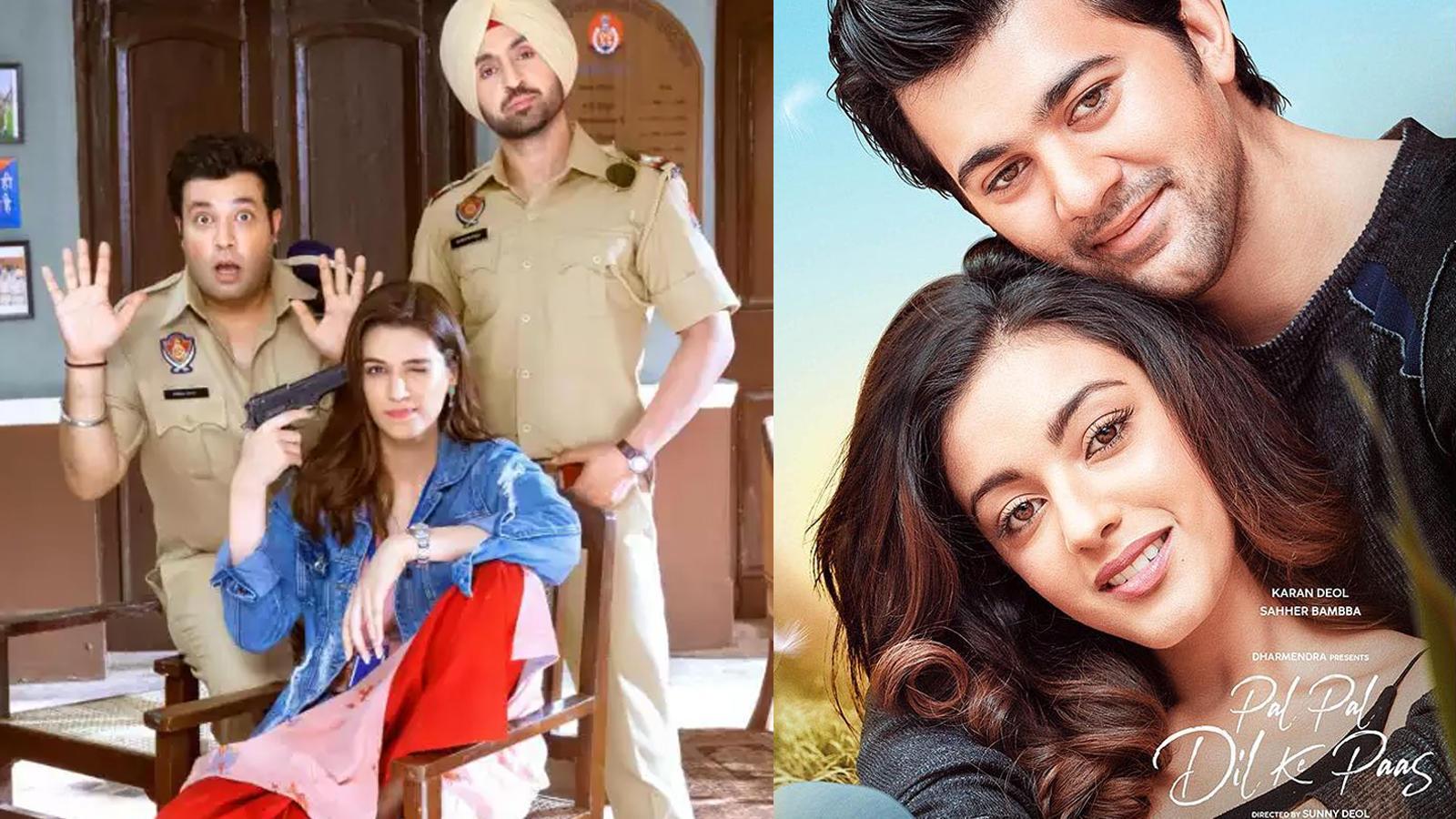 Diljit Dosanjh-Kriti Sanon starrer 'Arjun Patiala' to clash with Karan Deol's 'Pal Pal Dil Ke Paas'