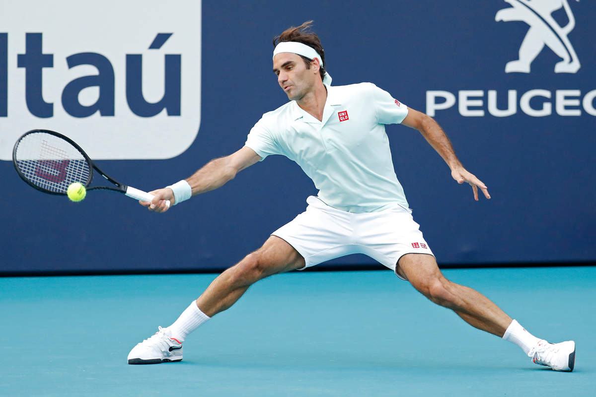Federer qualifies into Miami Open quarter-finals