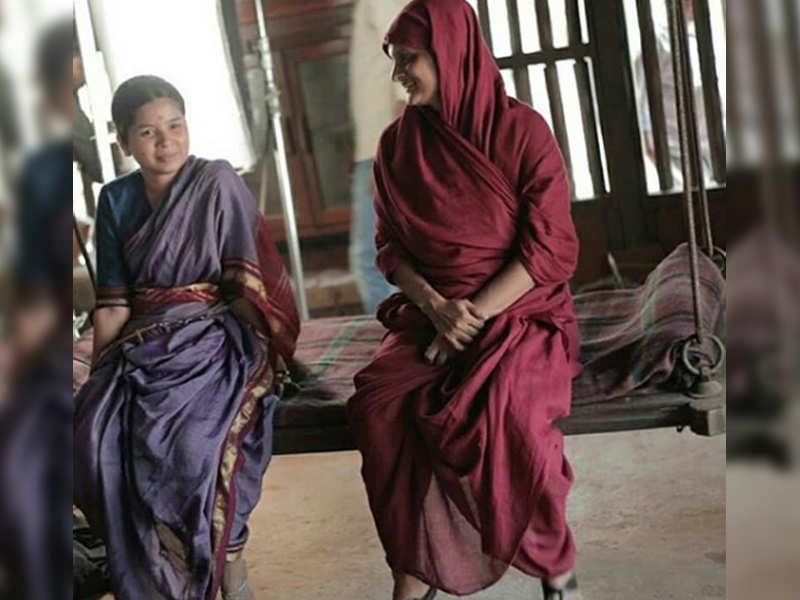 Photo: Bhagyashree Milind shares her 'pleasant memories' from the film 'Anandi Gopal'