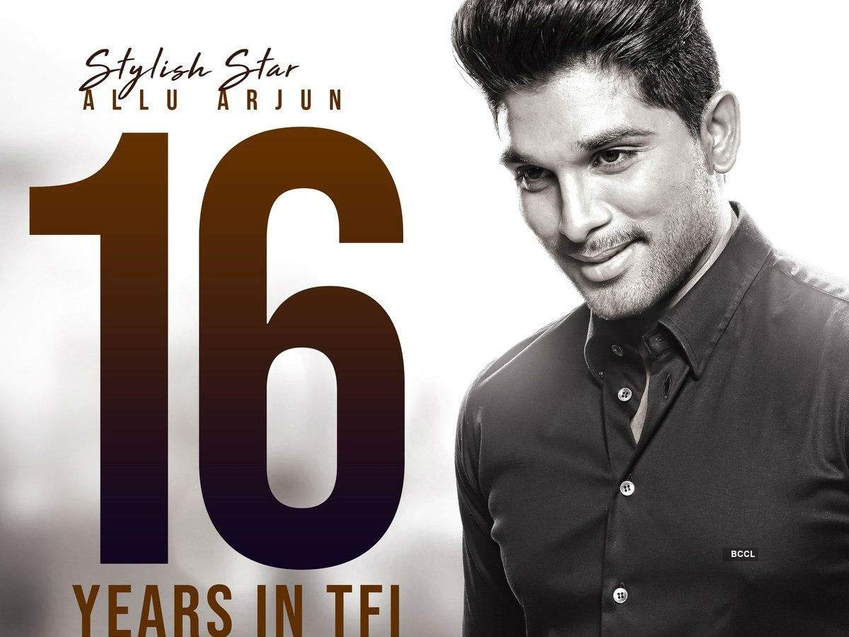 16 iconic years of Allu Arjun: Take a look at his inspiring and